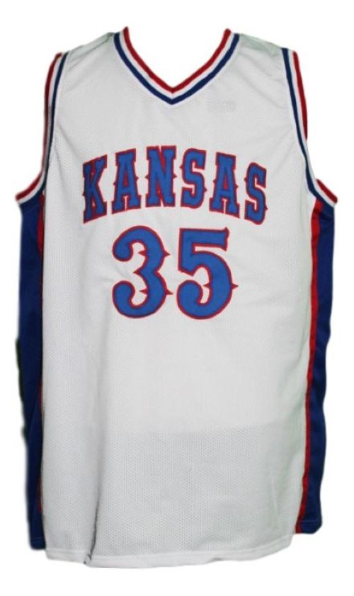Udoka Azubuike #35 College Basketball Jersey Sewn White Any Size