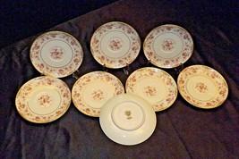 Noritake China (8 Saucers) Charmaine 5506 AA20-2360B Vintage