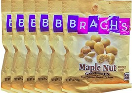 Brach's Maple Nut Goodies Roasted Peanuts In Crunchy Toffee Real Maple S... - $30.58