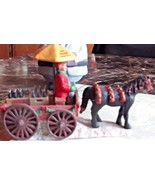 Town Square Collection Coca Cola Horse & Buggy 1992 - $14.01