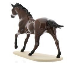 "Hagen-Renaker Miniature Ceramic Horse Figurine Thoroughbred ""Seabiscuit"" image 7"