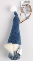 4ct Birchwood Bay Fabric Gnome Elf Christmas Ornaments Wondershop 2018 NEW w Tag image 2