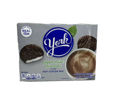 Hershey's Instant York Peppermint Hot Cocoa Mix, 5.29 oz 1 Box T2 - $10.69