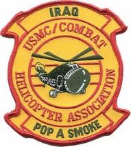 USMC Combat Iraq Helicopter Association Pop A Smoke Patch - $1,000.00