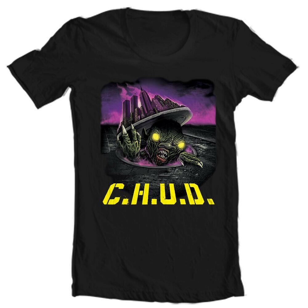 C.H.U.D. Cannibalistic Humanoid Underground Dwellers T Shirt retro horror tee