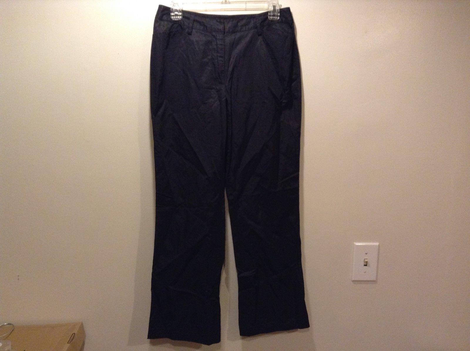 Spanner Ladies Dark Metallic Casual Pants Sz 4