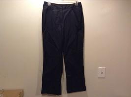 Spanner Ladies Dark Metallic Casual Pants Sz 4 - $34.60