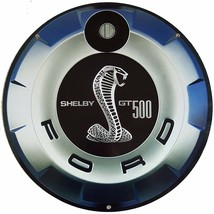 """Shelby Gt 500 22"""" Round Gas Cap Metal Sign - $98.00"""