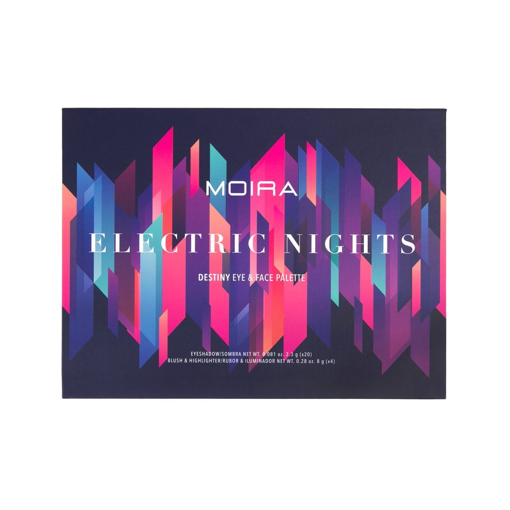 Moira Cosmetics Electric Night Eye And Face Palette