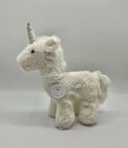"""Voyagers Sparkle Unicorn Plush White Glittery Horn 10"""" NWT Manhattan Toy... - $20.11"""