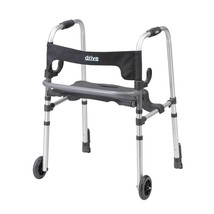 Drive Medical Clever Lite LS Rollator With Seat and Brakes - $90.81