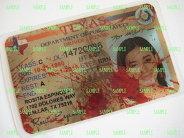 The Walking Dead  Drivers License [ Rosita Espinosa ]  B3G1F - $5.99