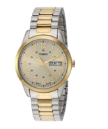 Timex Men's South Street Two Tone/Champagne Extra Long Expansion Band TW... - $34.99
