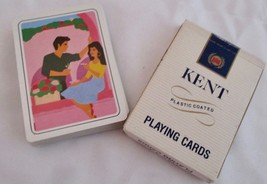 Kent Playing Cards Original Cigarette Box with Nostalgic 80's Designs Vi... - $12.86