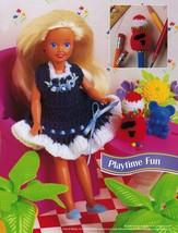"7-1/2"" Fashion Doll Beach Playtime Summer Teatime Slumber Party Crochet Pattern image 5"