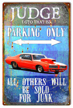 "GTO Parking Only Garage Shop Sign By Phil Hamilton 12""x18"" - $21.78"