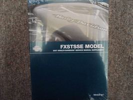 2007 Harley Davidson FXSTSSE Models Service Repair Shop Manual Supplement OEM x - $98.99