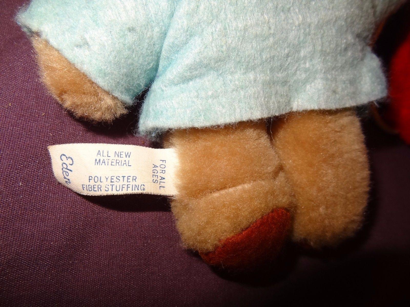 "Paddington Bear Wall Hanging Balloons Baby Nursery Plush Stuffed Animal 15"""