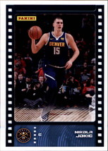 2019-20 Panini NBA Sticker Box Standard Size Insert #40 Nikola Jokic Denver Nugg - $2.95