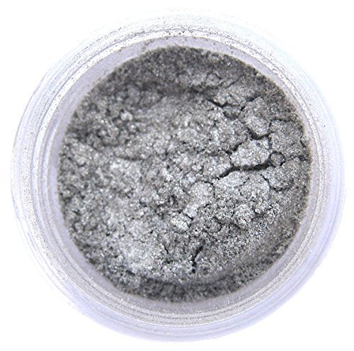 Nu Silver Luster Dust, 4 gram container