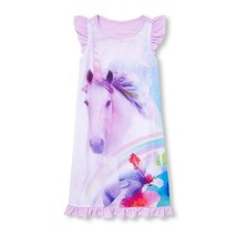 NWT The Childrens Place Unicorn Tropical Girls Pink Sleeveless Nightgown Pajamas - $10.99