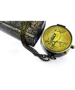 NauticalMart Brass Compass Sparrow Bird with Case Engraved in All Your W... - $29.00