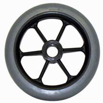 """6 x 1"""" 6 Spoke Wheelchair Caster Wheels (Pair) - $48.50"""