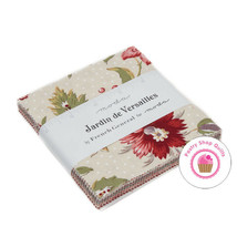 "Moda JARDIN DE VERSAILLES French General CHARM PACK 42- 5"" Quilt Fabric ... - $9.85"