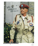 Wild Bill Guarnere signed WWII Band of Brothers 101st Airborne Easy Comp... - $94.95