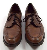 Allen Edmonds Jaron Ii Brown Leather Moccasin Toe Oxfords Dress Shoes 14 Aaa - $28.70