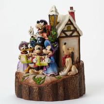 """7.25"""" """"Holiday Harmony"""" Mickey, Pluto, Donald Duck- Jim Shore Disney Traditions image 2"""