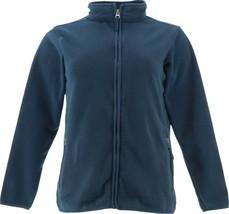 Lands' End T-200 Fleece Jacket Black L NEW 430912 - $22.75