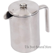 Coffee or Tea 5 cups Double Wall Stainless Steel (304) French Press 1.2L... - $49.95