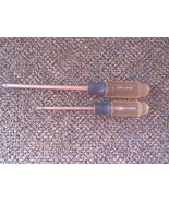 Vintage Lot Of 2 Craftsman K WF Series Phillips Head Screwdrivers,41295 ... - $14.01