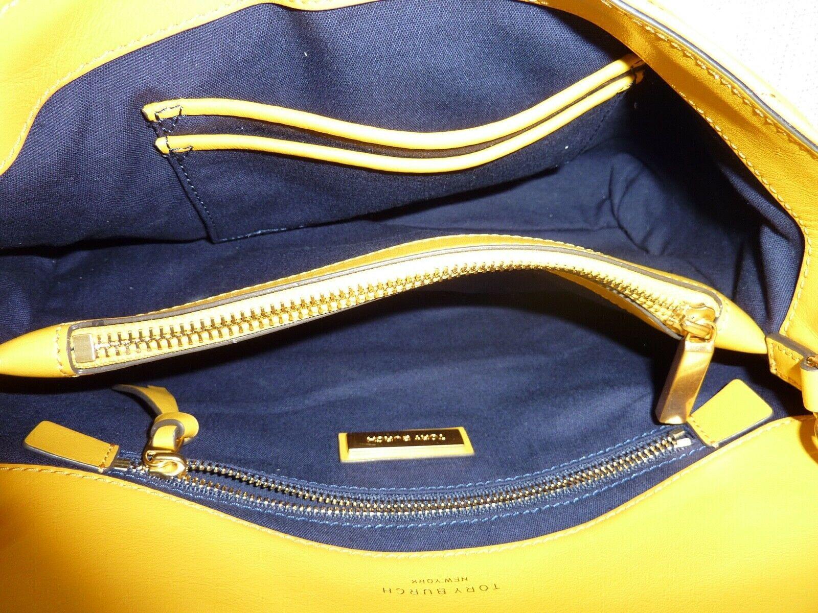 NWT Tory Burch Daylily Kira Chevron Flap Shoulder Bag $528 image 9