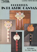 Doorbells Christmas Halloween 8 Designs Plastic Canvas PATTERN/INSTRUCTIONS - $2.22