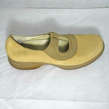 Merrell Topo Tango Shoes Mary Jane Comfort Women Size 9 Camel Tan Suede - $29.69