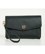 Tory Burch Robinson Small Leather Tech Leather Phone Wristlet Wallet ~NW... - $136.62