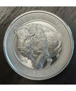 MintID 2 oz Silver Round Buffalo Design (BU, AES-128 Encrypted) - $78.00