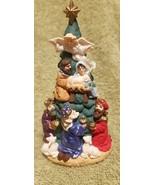 Hallmark Keepsake Ornament Nativity Tree 3 Kings Mary Joseph Jesus Angel... - $15.00