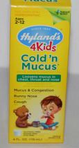 Hyland's 4 Kids Cold N Mucus 4 oz Homepathic NEW - $6.99