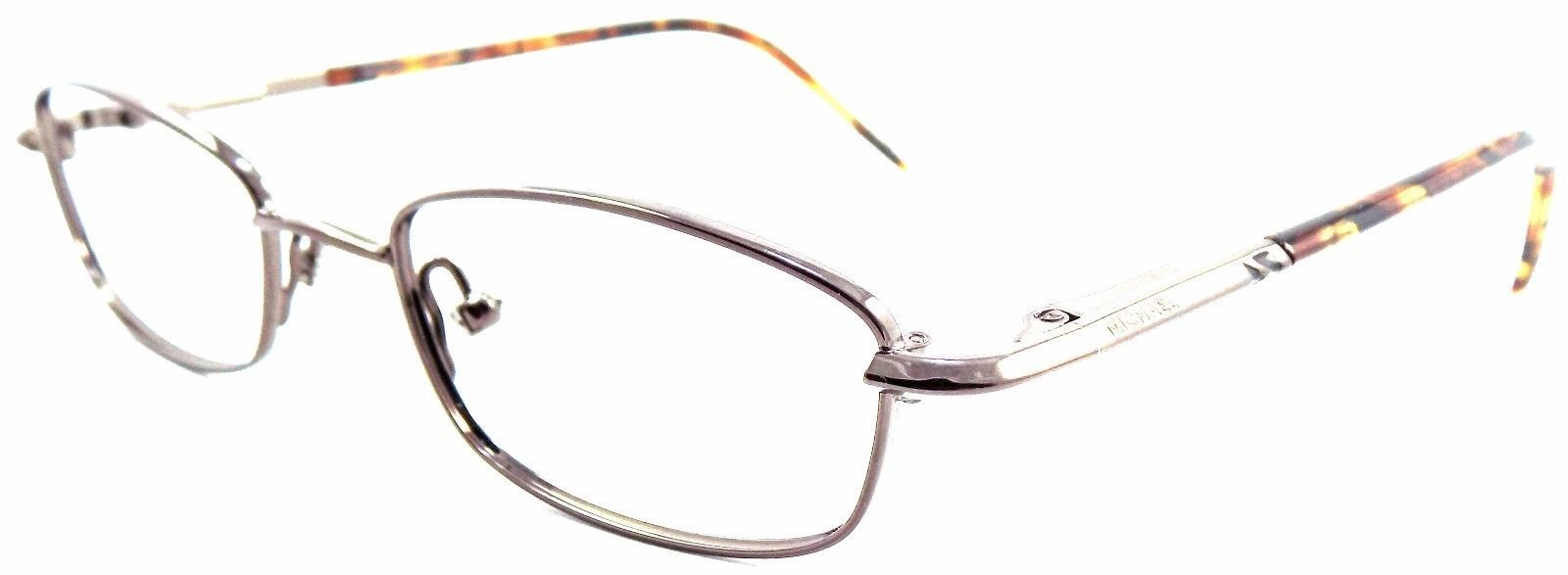 Michael Kors M2411 200 Rx Eyeglasses Frame 47x17x130 Dark Brown Tortoise Ladies