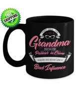 Personalized Grandma Grandmother Ceramic Novelty Coffee Mug Grandparent ... - $17.09+