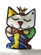 Romero Britto Mini Cat Crown Princess 3 Dimensional Figurine #331390