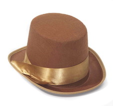 SteamPunk and Cosplay Victorian Brown Bell Topper Hat NEW UNWORN - €9,42 EUR