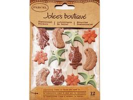 Jolee's Boutique Dimensional Plastic Charm Stickers #50-20306