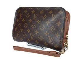 LOUIS VUITTON Orsay Monogram Canvas Clutch Bag LP2602 - $249.00
