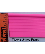 Pink Universal Solid Bead Rubber Fender Welting Sold By The Foot - $2.10