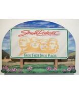 South Dakota State Welcome Sign Artwood Fridge Magnet - $6.50