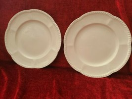 Johnson Brothers Old English  White  set of 2 dinner plates  - $29.69